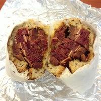 Photo taken at Jeff's Gourmet Kosher Sausage Factory by Chris H. on 4/5/2013