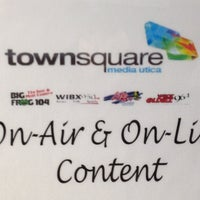 Photo taken at Townsquare Media Utica/Rome by Dave W. on 2/7/2013