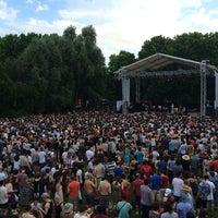 Photo taken at La Villette Sonique by Herve M. on 6/8/2014