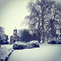 Photo taken at Babington House by Ollie M. on 1/18/2013