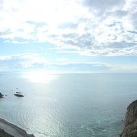 Photo taken at Faro de Cabo Vidio by Steven F. on 5/24/2016