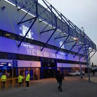 Photo taken at Goodison Park by Phil J. on 2/26/2013