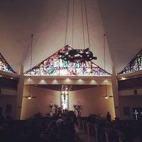 Photo taken at Parroquia Nuestra Señora de Belén by Rolando R. on 3/15/2014