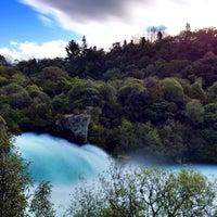 Photo taken at Huka Falls by Shan M. on 9/24/2015