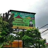 Photo taken at Saung Kabayan by M. Rasyidi H. on 3/26/2015