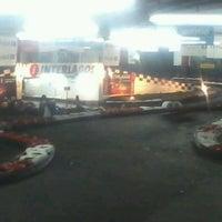 Photo taken at Interlagos karting by Flor M. on 1/17/2013