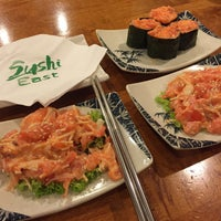 Photo taken at Sushi East by Naurah S. on 2/19/2016