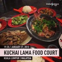 Photo taken at Kuchai Lama Food Court by ELVN™ on 1/27/2013