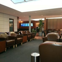 Photo taken at United Club by Nguyen T. on 10/20/2012