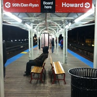 Photo taken at CTA - Wilson by Bill D. on 1/10/2013