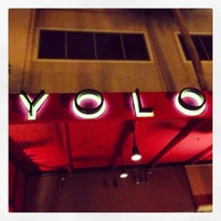 Photo taken at YOLO by Mike B. on 3/2/2013