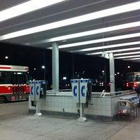 Photo taken at Bathurst Subway Station by Michael F. on 11/11/2012
