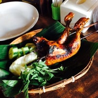 "Photo taken at Warung Lesehan Ayam Bakar ""Lientang"" by Efrida T. on 8/28/2015"