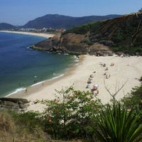Photo taken at Praia do Sossego by Alexandre P. on 9/16/2012