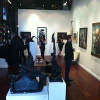 Photo taken at Varnish Fine Art by Donia on 7/27/2013