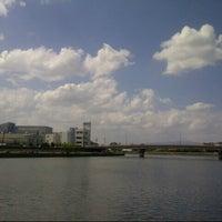 Photo taken at 神崎川河川敷 by Shinichi M. on 9/24/2013