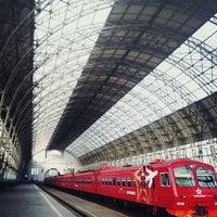 Photo taken at Kievsky Rail Terminal by Tanya E. on 7/14/2013