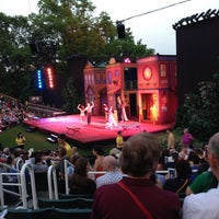 Photo taken at Delacorte Theater by Chris M. on 5/31/2013