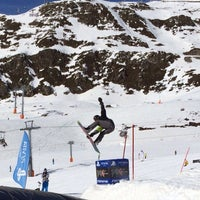 Photo taken at Xperia Ischgl Snowpark by Ivan S. on 3/11/2014