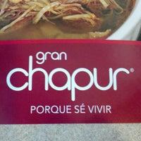 Photo taken at Gran Chapur by Virginia P. on 10/7/2012