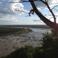 Photo taken at Olifants Rest Camp by Mitch W. on 2/16/2013
