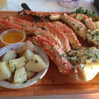 Photo taken at Rustic Inn Seafood Crabhouse by Alyson G. on 1/23/2013