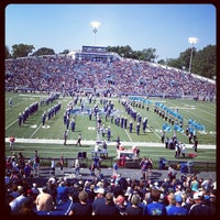 Photo taken at Foreman Field at S.B. Ballard Stadium by Gerry M. on 9/22/2012