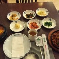 Photo taken at Auntie Kim's Korean Restaurant by Andrea S. on 1/31/2015