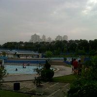 Photo taken at Kolam renang Unesa by Tisulaw ☆. on 6/2/2013