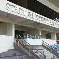 Photo taken at Stadium Negeri by BalkidZahir H. on 12/1/2012