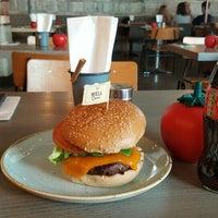 Photo taken at Gourmet Burger Kitchen by Delo K. on 7/22/2016