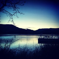 Photo taken at Estany de Banyoles by Roc T. on 3/10/2013