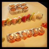 Photo taken at Sushi-O by Julie G. on 8/26/2012
