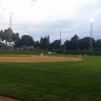 Photo taken at The Mini Met Ballpark by Joe P. on 9/1/2014