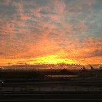 Photo taken at Newark-Liberty Airport Express Shuttle by Thiago B. on 10/8/2016