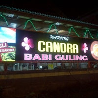 Photo taken at Babi Guling Candra by Julian W. on 5/10/2013
