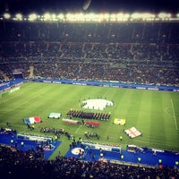 Photo taken at Stade de France by Guillaume A. on 3/23/2013