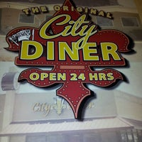 Photo taken at City Diner by Alex P. on 11/25/2012