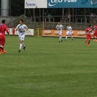 Photo taken at Soevereinstadion | Lommel United by Bart S. on 8/7/2016