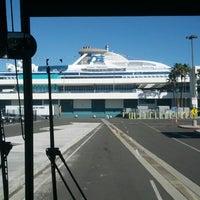 Photo taken at World Cruise Terminal by Liz W. on 12/15/2012