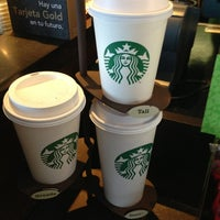 Photo taken at Starbucks by Sergio O. on 1/25/2013