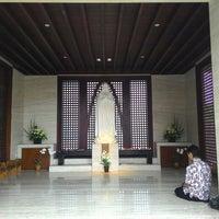 Photo taken at Gereja Katolik Roh Kudus by Johannes B. on 4/9/2016