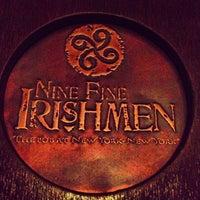 Photo taken at Nine Fine Irishmen by Ryan B. on 5/3/2013