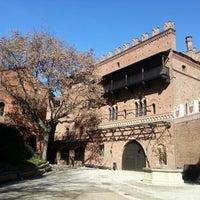 Photo taken at Borgo Medievale by Alberto A. on 3/19/2013