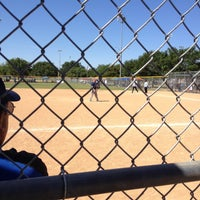 Photo taken at Krieg Field Softball Complex by Grant A. on 5/4/2013
