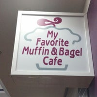 Photo taken at My Favorite Muffin Bagel & Cafe by Jim G. on 6/23/2013