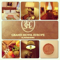 Photo taken at Belmond Grand Hotel Europe by Alexey S. on 2/24/2013