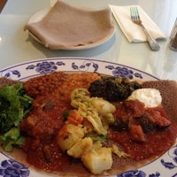 Photo taken at Assab Eritrean Restaurant by Lashawnte B. on 10/23/2015