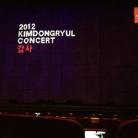 Photo taken at 세종문화회관 M 씨어터 (Sejong Center M Theater) by By S. on 1/19/2013