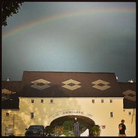 Photo taken at Brewery Ommegang by Brian D. on 8/3/2013